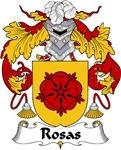 Rosas Family Crest