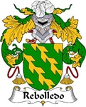 Rebolledo Family Crest
