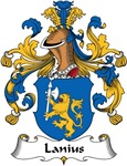 Lanius Family Crest