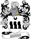 Usher Coat of Arms