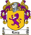 Lacy Family Crest, Coat of Arms