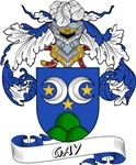 Gay Family Crest / Gay Coat of Arms