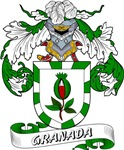 Granada Family Crest / Granada Coat of Arms