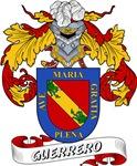 Guerrero Family Crest / Guerrero Coat of Arms