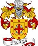 Segura Family Crest / Segura Coat of Arms