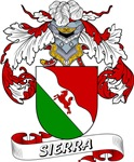 Sierra Family Crest / Sierra Coat of Arms