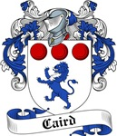 Caird Family Crest, Coat of Arms