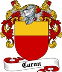 Caron Family Crest, Coat of Arms