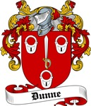 Dunne Family Crest, Coat of Arms