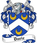 Durie Family Crest, Coat of Arms