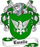 Emslie Family Crest, Coat of Arms