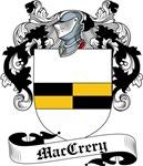 MacCrery Family Crest, Coat of Arms