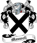 Maxwell Family Crest, Coat of Arms