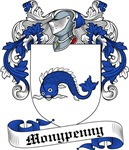Monypenny Family Crest, Coat of Arms