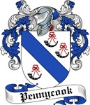 Pennycook Family Crest, Coat of Arms