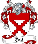 Tait Family Crest, Coat of Arms