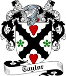 Taylor Family Crest, Coat of Arms