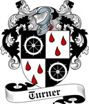 Turner Family Crest, Coat of Arms