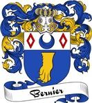 Bernier Family Crest, Coat of Arms