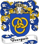 Bourgeois Family Crest, Coat of Arms