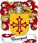 Bousquet Family Crest, Coat of Arms