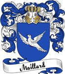 Maillard Family Crest, Coat of Arms