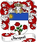 Marquet Family Crest, Coat of Arms
