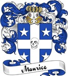 Maurice Family Crest, Coat of Arms