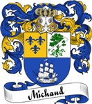 Michaud Family Crest, Coat of Arms