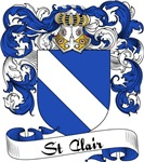 St. Clair Family Crest, Coat of Arms