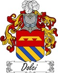 Dolci Family Crest, Coat of Arms