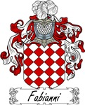 Fabianni Family Crest, Coat of Arms