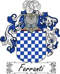 Ferranti Family Crest, Coat of Arms