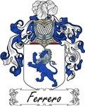 Ferrero Family Crest, Coat of Arms