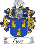 Ferro Family Crest, Coat of Arms