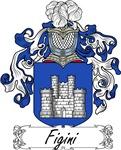 Figini Family Crest, Coat of Arms