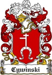 Cywinski Family Crest, Coat of Arms