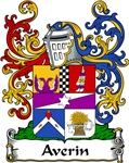 Averin Family Crest, Coat of Arms