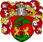 Blankers Family Crest, Coat of Arms