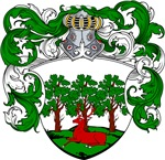 Bogaart Family Crest, Coat of Arms