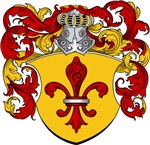 Hoet Family Crest, Coat of Arms
