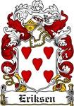 Eriksen Coat of Arms, Family Crest