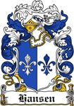 Hansen Coat of Arms, Family Crest