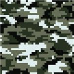 8 Bit Pixel Urban Camouflage