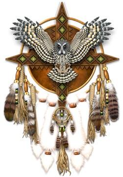Great Grey Owl Mandala