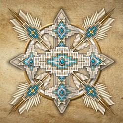 Native American Style Mandala 29