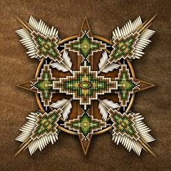 Native American Style Mandala 30