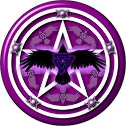 Purple Crow Pentacle