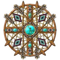 Beads and Arrows Mandala