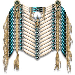 Native American Breastplate 8